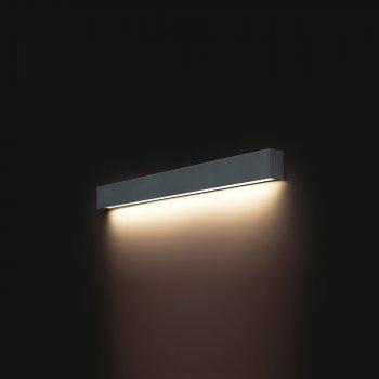 Светильник настенный Nowodvorski STRAIGHT LED 16W M 9617 графит