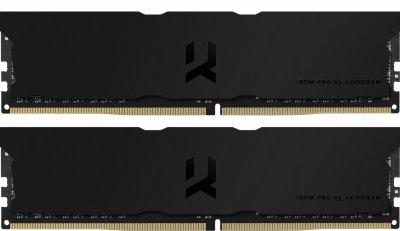 Оперативная память Goodram DDR4-3600 32768MB PC4-28800 (Kit of 2x16384) IRDM Pro Deep Black (IRP-K3600D4V64L18/32GDC)
