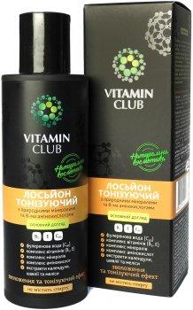 Лосьон тонизирующий VitaminClub с природными минералами и 8-ю аминокислотами 150 мл (4820212020179)