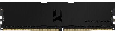 Оперативная память Goodram DDR4-3600 16384MB PC4-28800 IRDM Pro Deep Black (IRP-K3600D4V64L18/16G)
