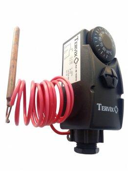 Термостат капілярний Tervix Pro Line 103010 чорний з виносним датчиком 1000 мм