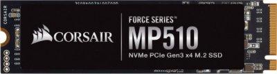 Corsair MP510 240Gb M.2 PCI-E 4x, 3D TLC, 3100/1050 MB/s (CSSD-F240GBMP510)