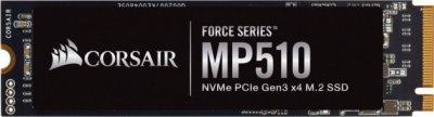 Corsair Force Series MP510 NVMe SSD 960GB M.2 2280 PCIe Gen3.0 x4 3D TLC (CSSD-F960GBMP510B)