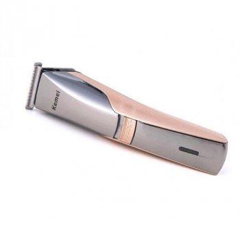 Професійна машинка для стрижки волосся і бороди Стайлер Kemei Km-5018