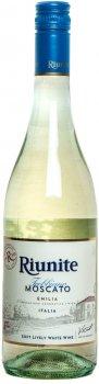 Вино игристое Riunite Trebbiano Moscato Emilia белое полусладкое 0.75 л 8% (8002550505495)