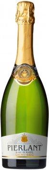 Вино ігристе Pierlant Demi-sec біле напівсухе 0.75 л 11% (3500610006838)