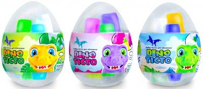 Набор теста для лепки Lovin'do Dino Тесто 16 яиц в шоубоксе (41121) (4820199474538)