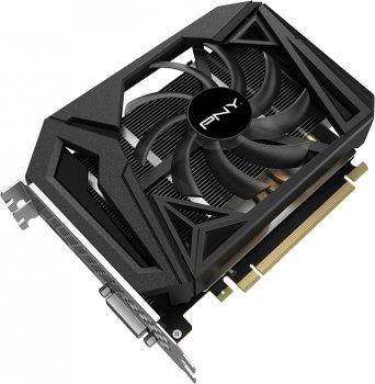 PNY PCI-Ex GeForce GTX 1660 Super Single Fan 6GB GDDR6 (192bit) (1530/14000) (HDMI, DisplayPort, DVI-D) (VCG16606SSFPPB)