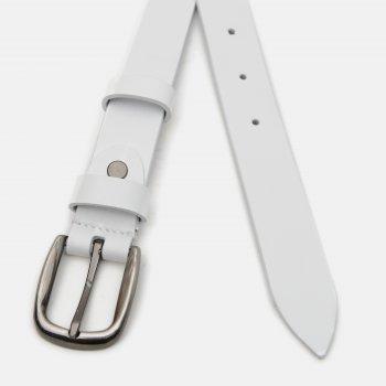 Ремень кожаный Laras v11010GX31 Белый (ROZ6400034995)