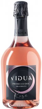 Вино игристое Vidua Prosecco Rose DOC Brut Millesimato рожеве сухе 0.75 11.5% (8020502036033)