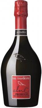"Вино игристое La Tordera Prosecco Treviso Doc ""alne"" Millesimato Spumante Extra Dry белое экстра сухое 0.75 л 11.5% (8033011560036)"
