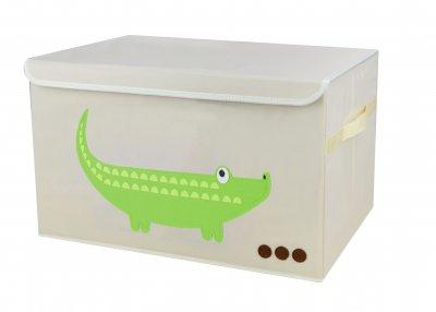 Короб складаний Handy Home Крокодил з кришкою 38x26x26 (CH14)
