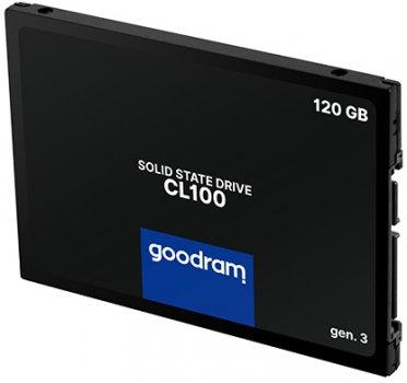 """Накопичувач SSD 2.5"""" 120GB GOODRAM (SSDPR-CL100-120-G3)"""