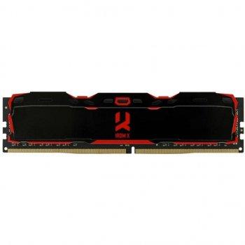 Модуль пам&яті для комп&ютера DDR4 8GB 3200 MHz Iridium Black GOODRAM (IR-X3200D464L16S/8G)