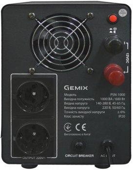 Пристрій безперебійного живлення GEMIX PSN-1000 (PSN1000VA)