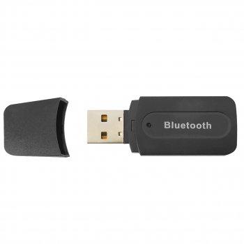 Bluetooth приемник Lesko H-163 аудио ресивер USB AUX 3.5 mm Блютуз 2.1 для наушников/колонок/авто