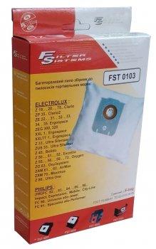 Багаторазовий мішок Filter Systems FST 0103 (аналог S bag) для пилососів ELECTROLUX / PHILIPS / AEG / BORK / PRIVILEG / TORNADO / ZANUSSI