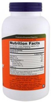 Псиллиум Now Foods порошок оболонки насіння подорожника 340 г