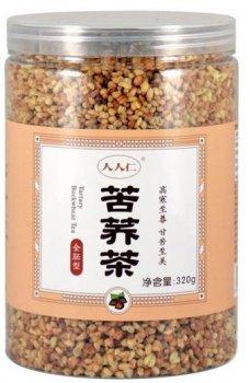 Чай зелений китайський Гречаний Ку Цяо 人人匚 гранульований 320 г