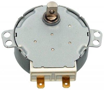 Двигатель тарелки СВЧ 220V 4W, метал.вал 11мм - A-8 арт.двм006