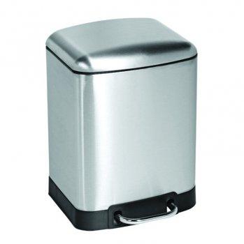Контейнер для сміття AWD Interior квадратне 6л матовий без відбитків
