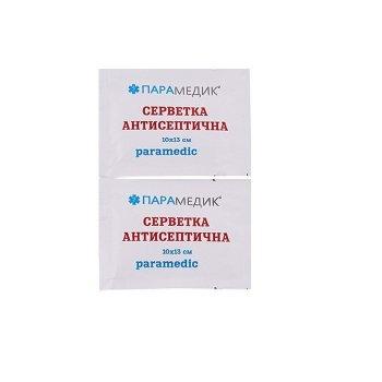 Салфетка антисептическая бактерицидная 50 шт Парамедик