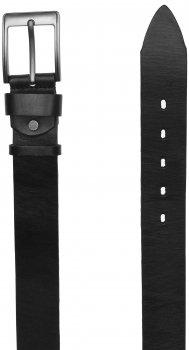 Мужской кожаный ремень Laras VN-RMAS4-125x79 Черный (ROZ6206113795)