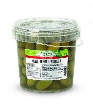 Оливки Cinquina Cerignola 1кг