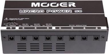 Блок питания для педалей эффектов Mooer Macro Power Power S8