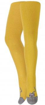 Колготки WOLA A55 140-146 жовті