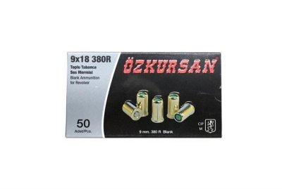 Патрон Ozkursan 9 мм. холостой револьверный