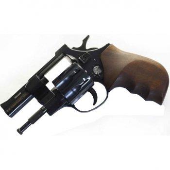 """Револьвер под патрон Флобера Weihrauch HW4 2,5"""" с деревянной рукоятью"""
