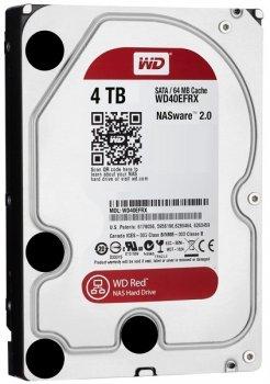 Жорстку диск HDD 4TB WD Red SATA3, IntelliPower rpm, 64MB WD40EFRX