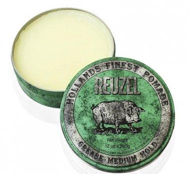 Помада для укладання волосся Reuzel Green Medium Hold Grease 35 ml