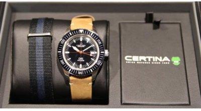Мужские наручные часы Certina C036.407.16.050.00 с ремешком