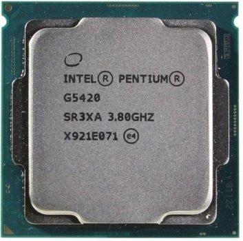 Процессор Intel Pentium Gold G5420 3.8GHz 4MB, Coffee Lake, 54W, S1151 (CM8068403360113) Tray