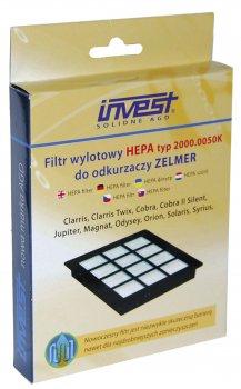 Фільтр HEPA для пилососів INVEST 2000.0050 K