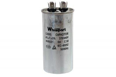 Конденсатор CBB65 40 мкФ 450 V металлический (пуско-рабочий)