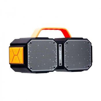 Портативная беспроводная Bluetooth колонка Jonter M83 40Вт Black с влагозащитой IPX45 и функцией зарядки устройств (M83)