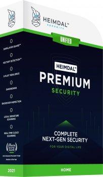 Антивирус Heimdal Premium Security Home 10 dev