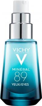 Гель для восстановления и увлажнения кожи вокруг глаз Vichy Минерал 89 15 мл (3337875596763)