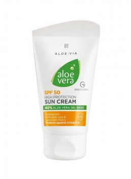 Сонцезахисний крем SPF 50 ALOE VIA Aloe Vera Sun 75 мл 23072