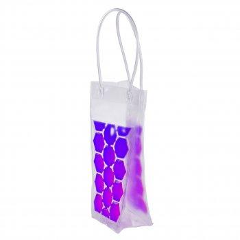 Пакет з льодом для охолодження напоїв фіолетовий