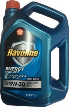 Моторна олива Texaco Havoline Energy 5w-30 4 л