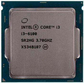 Процессор Intel Core i3-6100 3.70GHz, s1151, tray б/у