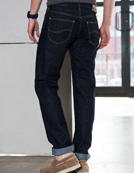 Джинси Lee Brooklyn Comfort Regular Classic Straight (L812AT45) Темно-синій