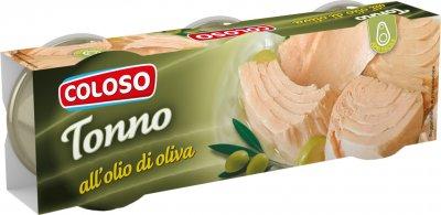 Тунец Coloso в оливковом масле 3 шт х 80 г (8410315050423)