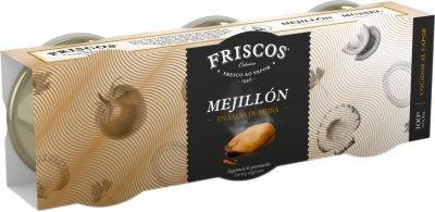 Мидии Friscos в соусе Виейра 3 шт х 80 г (8410315196060)
