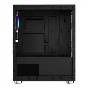 Корпус 1stPlayer R2-1R1 Color LED Black без БП