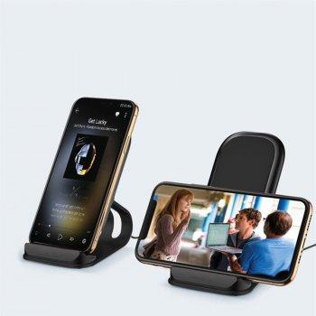 Беспроводное зарядное устройство ColorWay Wireless Stand 15W Black (CW-CHW31Q-BK)